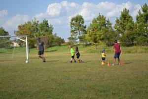 We've started a neighbourhood soccer club
