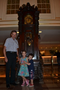 We were particularly fond of the old Grandfather's clock