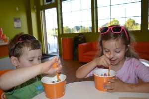 Especially when 'somewhere' is the Orange Leaf