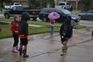 Rain! What rain?