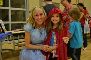 Mrs Garrity was Cinderella. Best. Teacher. Ever!