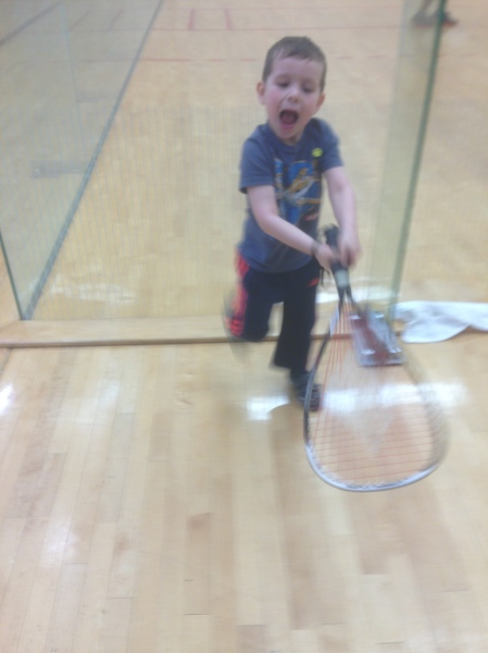 Rafa racket ball 2