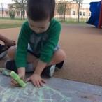 Rafa set 5 chalk art