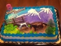Ana bday cake