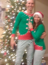 Christmas mummy and daddy elves
