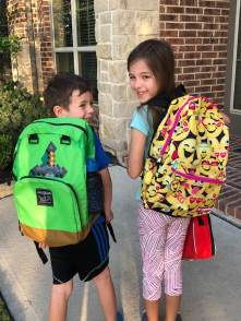 first day of school 18 19 backpacks